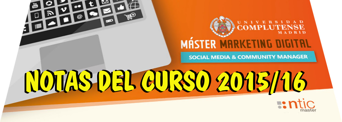 NTIC Máster – Módulo 10 – Search Engine Optimization (SEO)